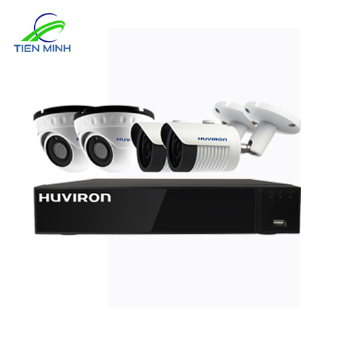 BỘ KIT CAMERA HUVIRON F-Kit4POE